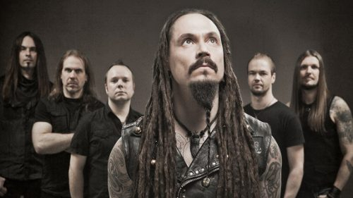 Band photo of Amorphis in 2009