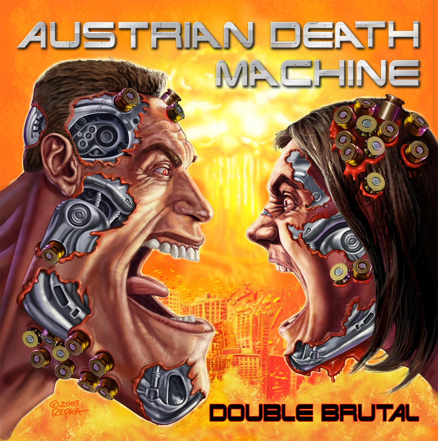 Austrian Death Machine – Double Brutal Review