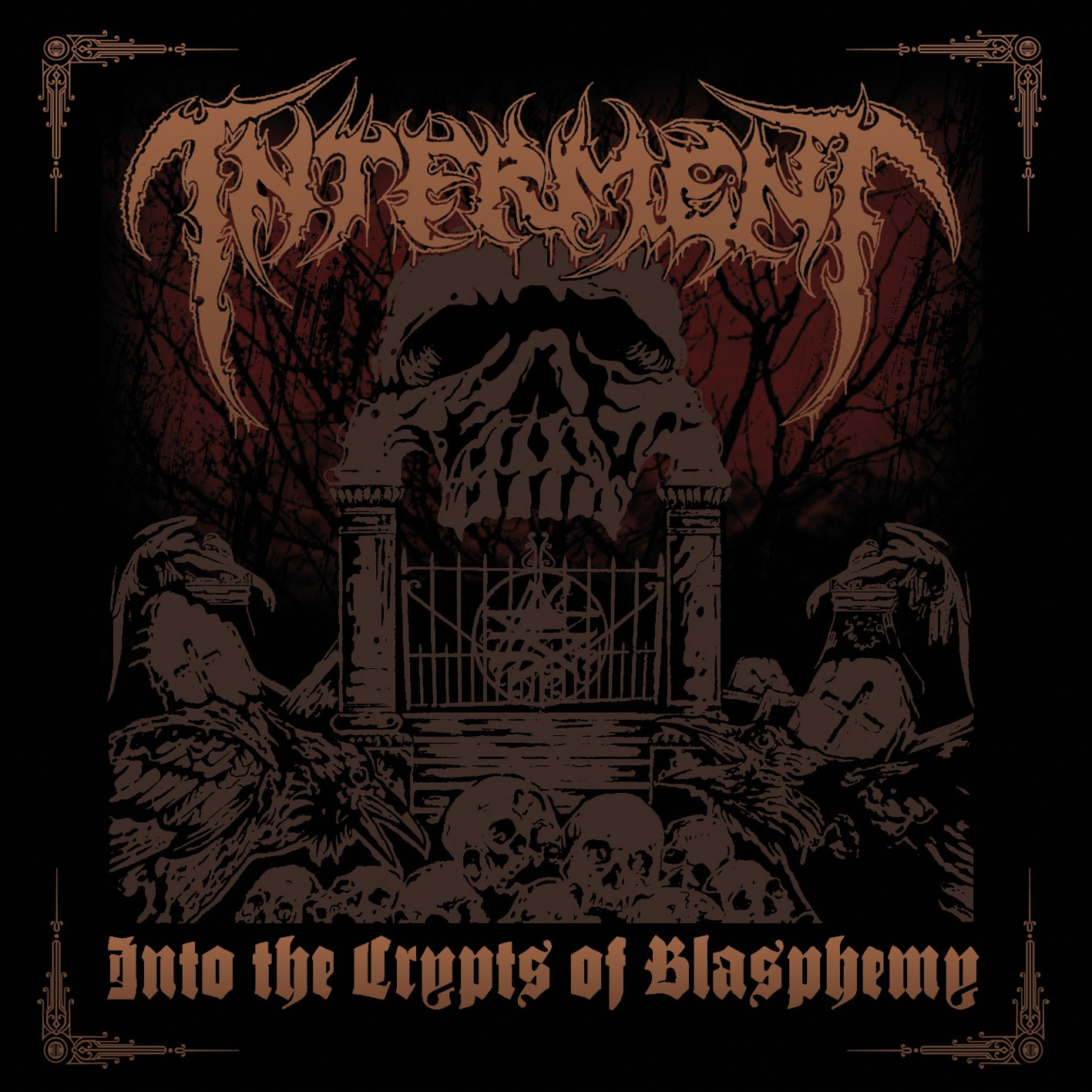 Interment – Into the Crypts of Blasphemy Review