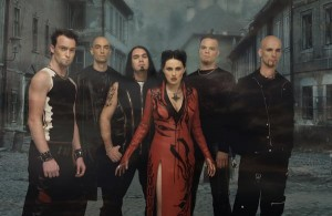 Within Temptation lookin' Gothy