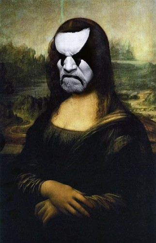 Angry Metal Lisa by Unknown