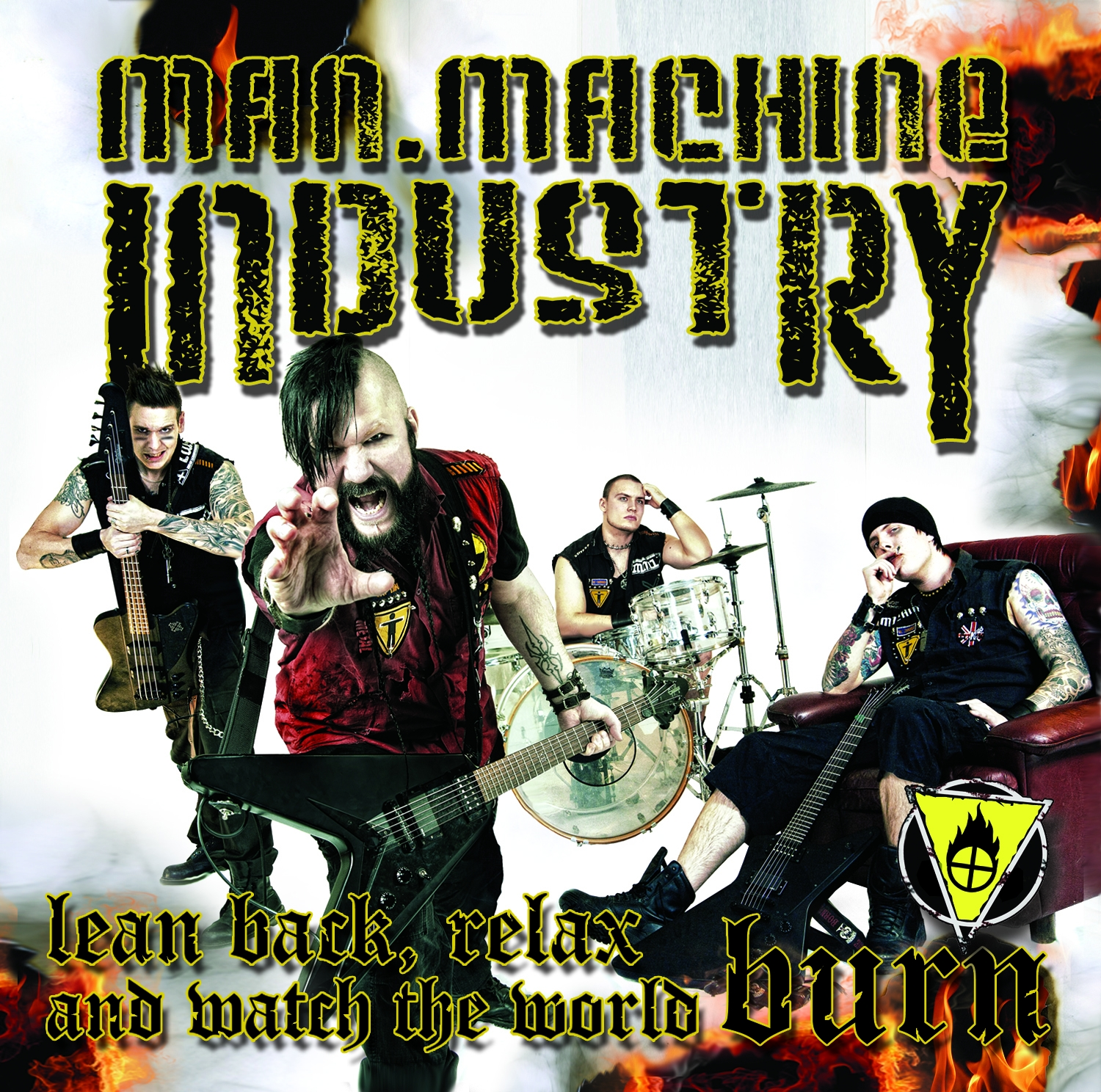 Man.Machine.Industry – Lean Back, Relax and Watch the World Burn Review