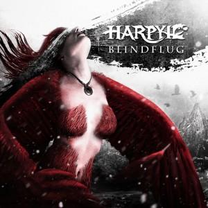 Harpyie - Blindflug Cover