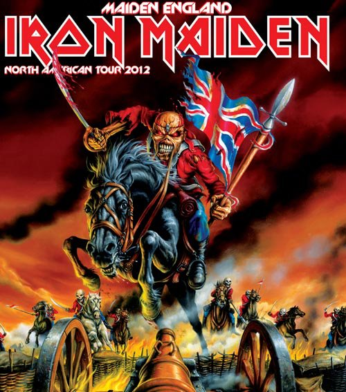 Steel Druhm's Concert Review: Iron Maiden at Jones Beach Theater, Wantaugh, NY
