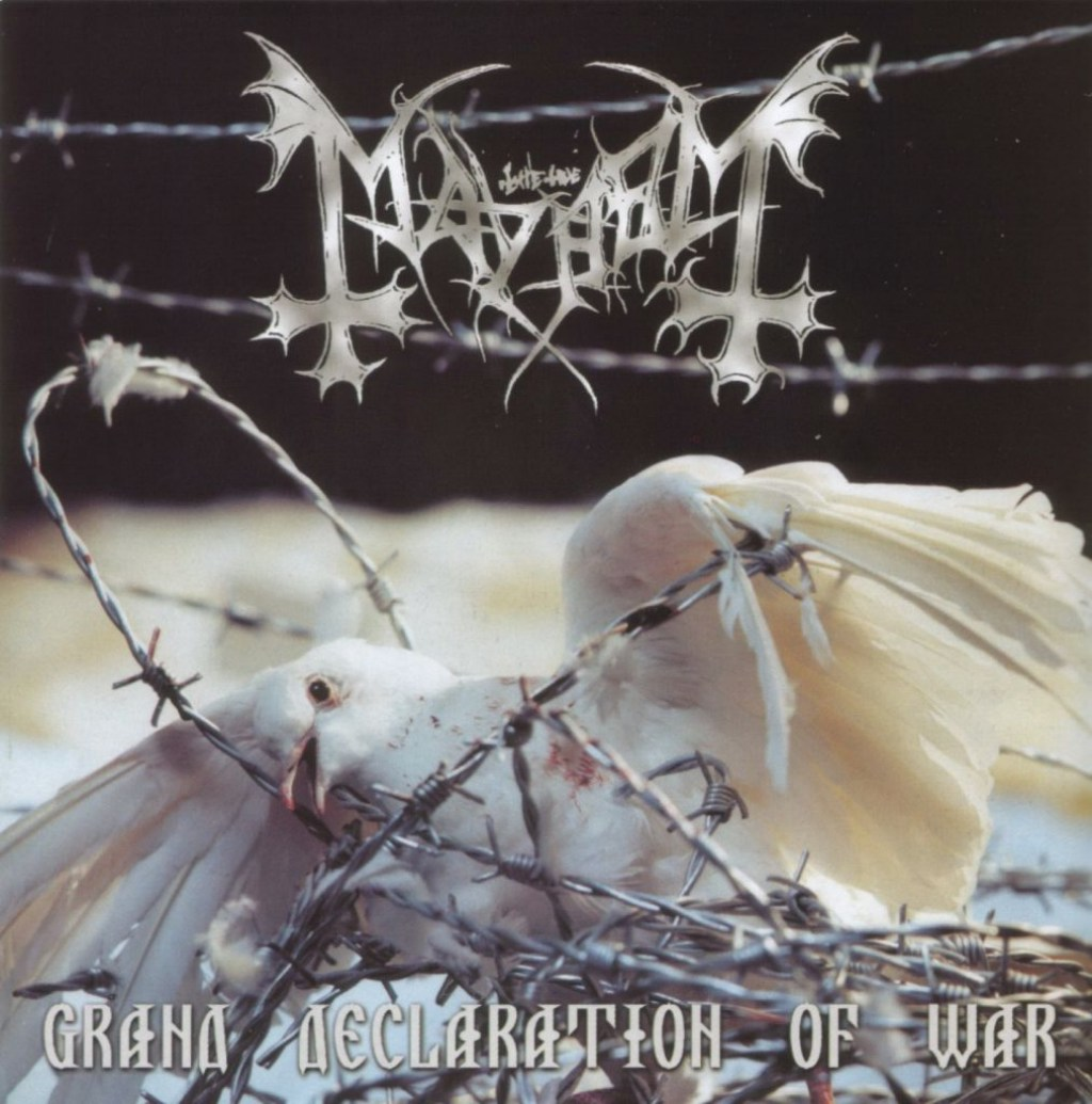Angry Metal Guy's Indefensible Positions: Mayhem – Grand Declaration of War