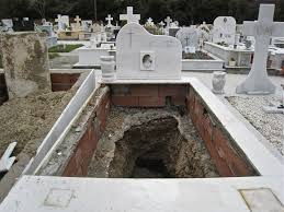exhuming