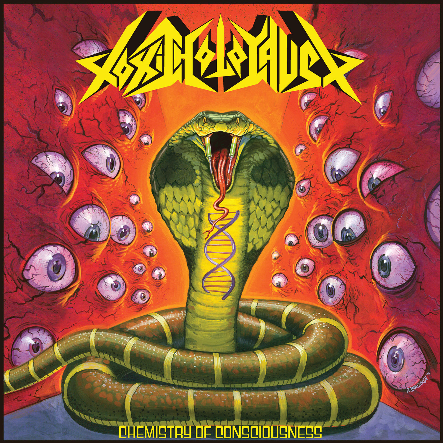 Toxic Holocaust – Chemistry of Consciousness Review