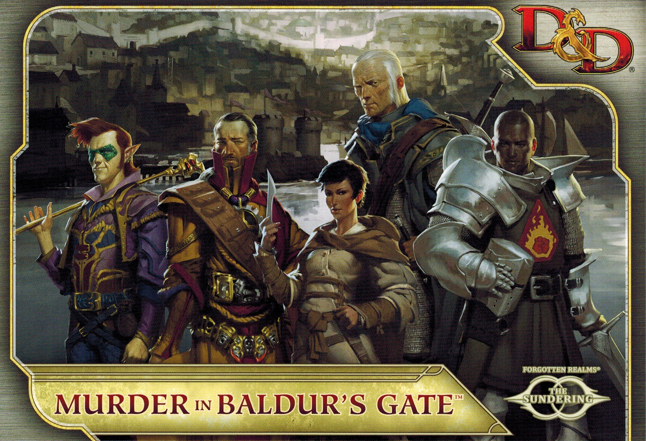 Angry Metal Guy's Nerd Corner: Murder in Baldur's Gate Review