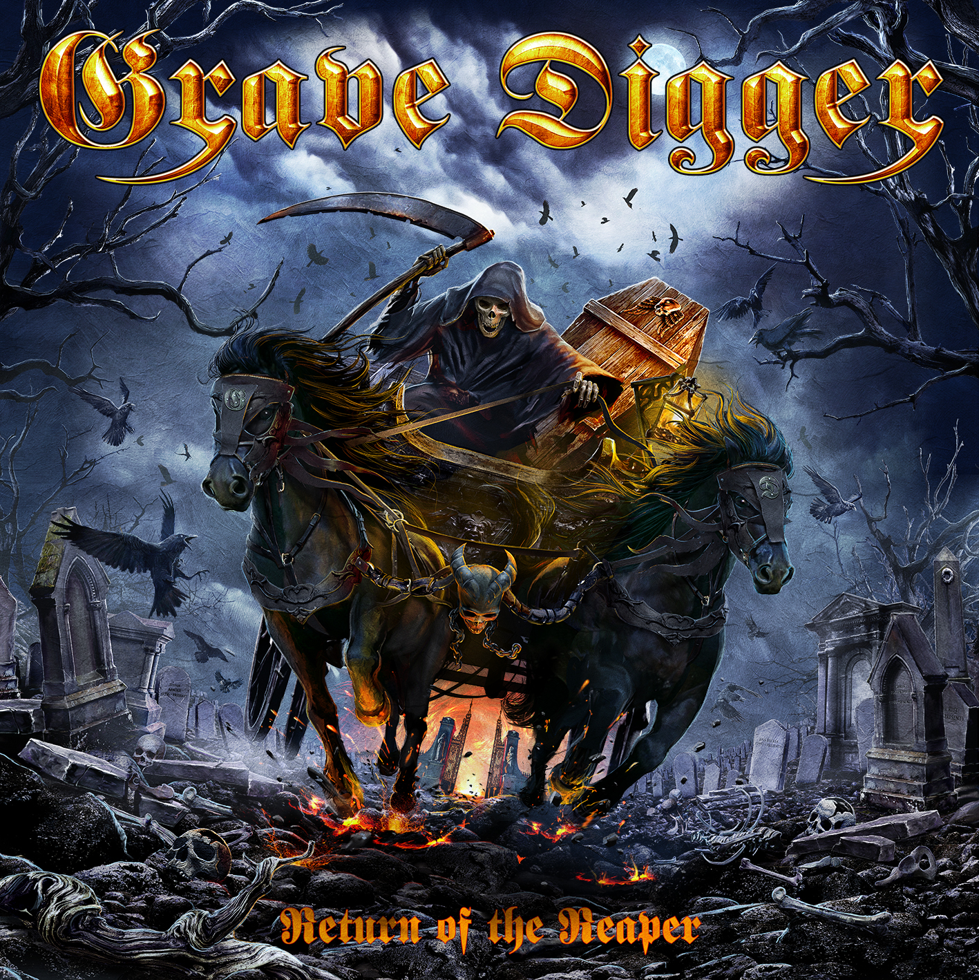 Grave Digger – Return of the Reaper Review