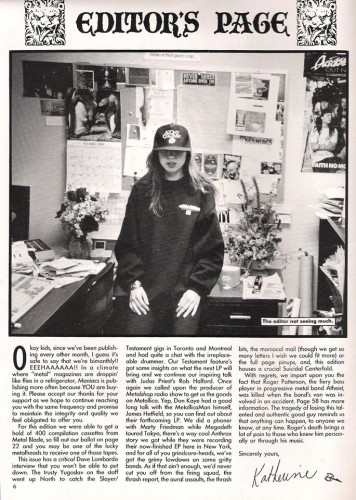 Katherine the Editor