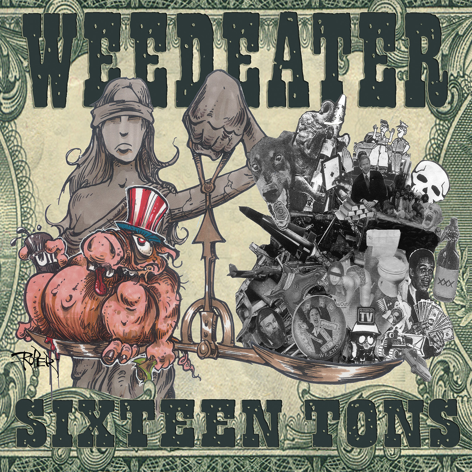 Weedeater – Sixteen Tons Review
