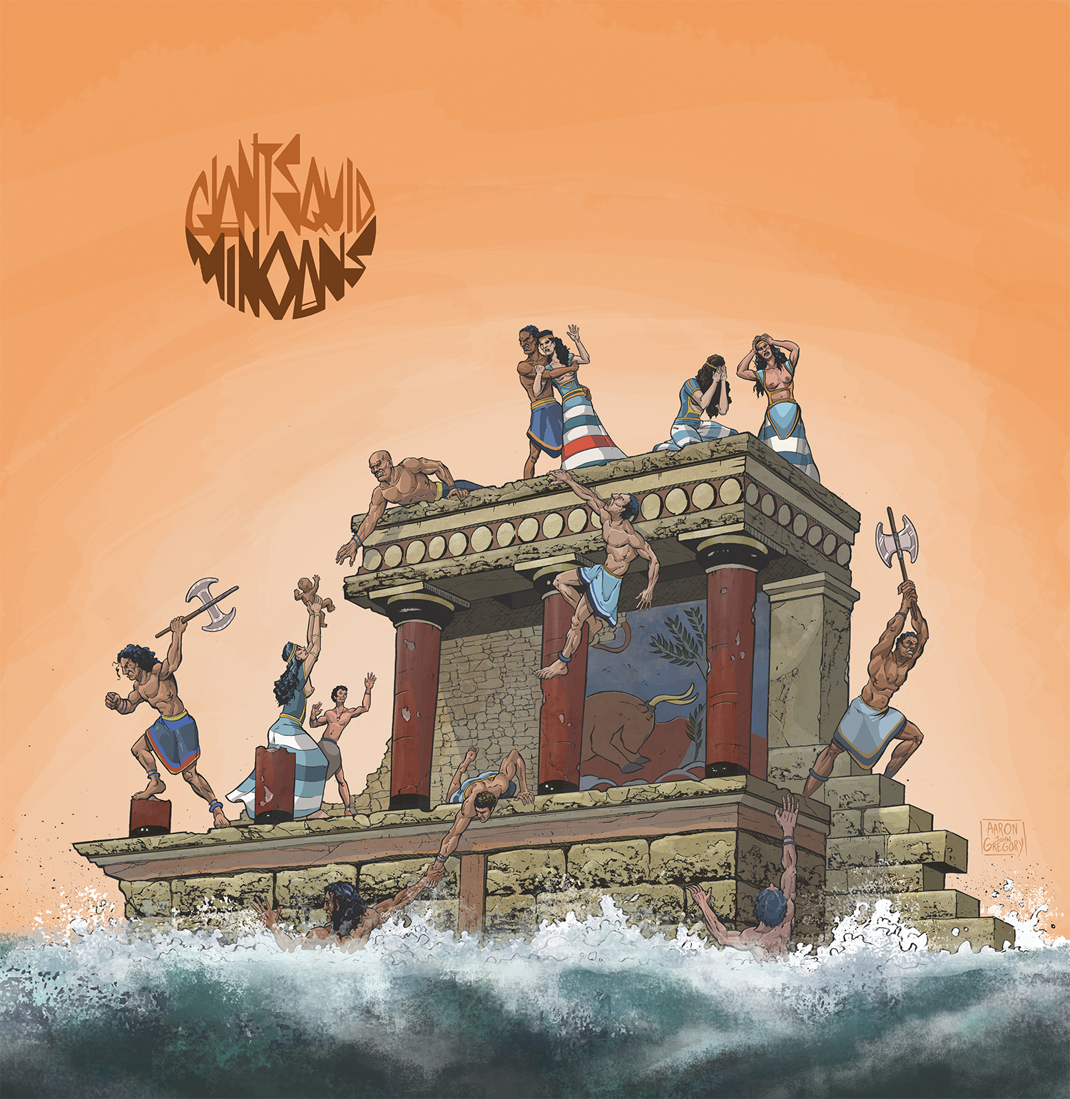 Giant Squid – Minoans Review