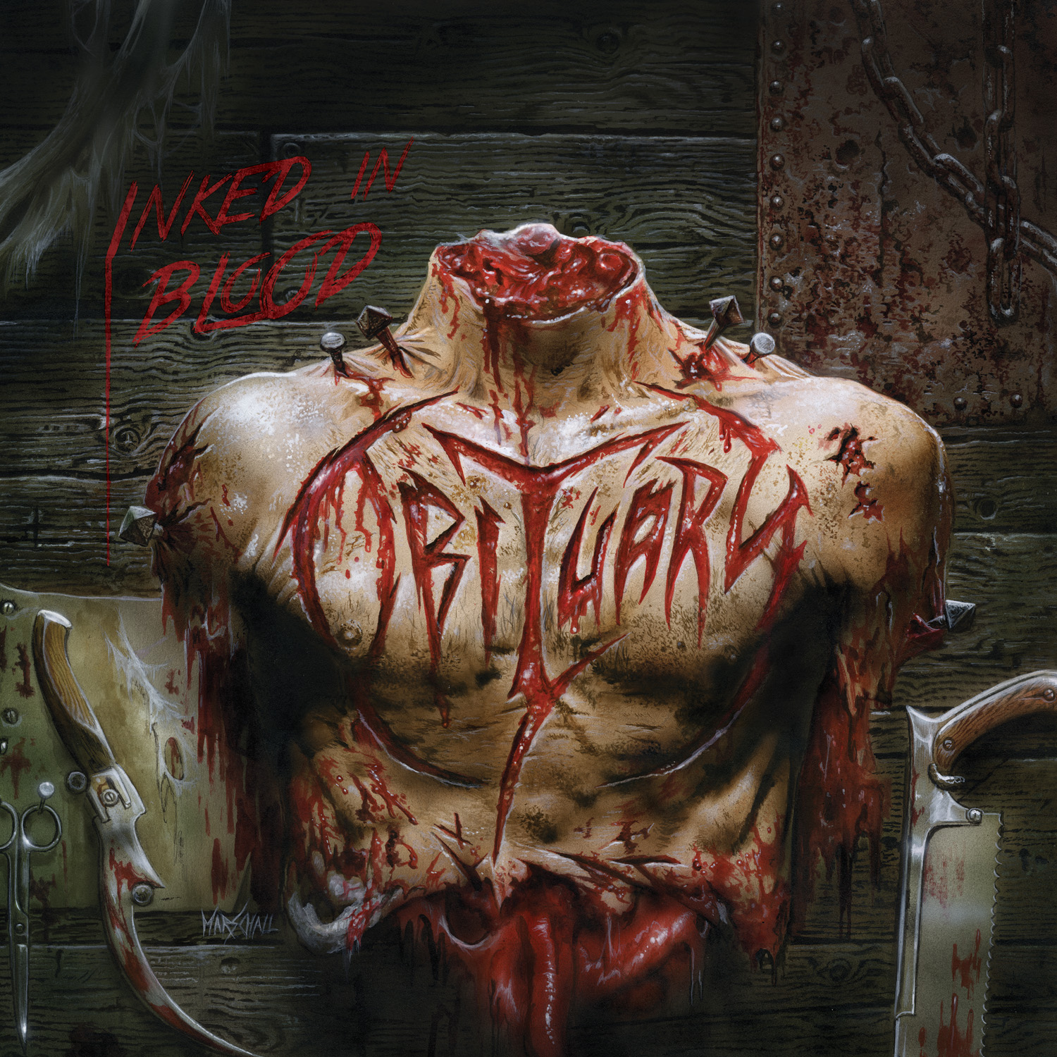 Obituary – Inked In Blood Review