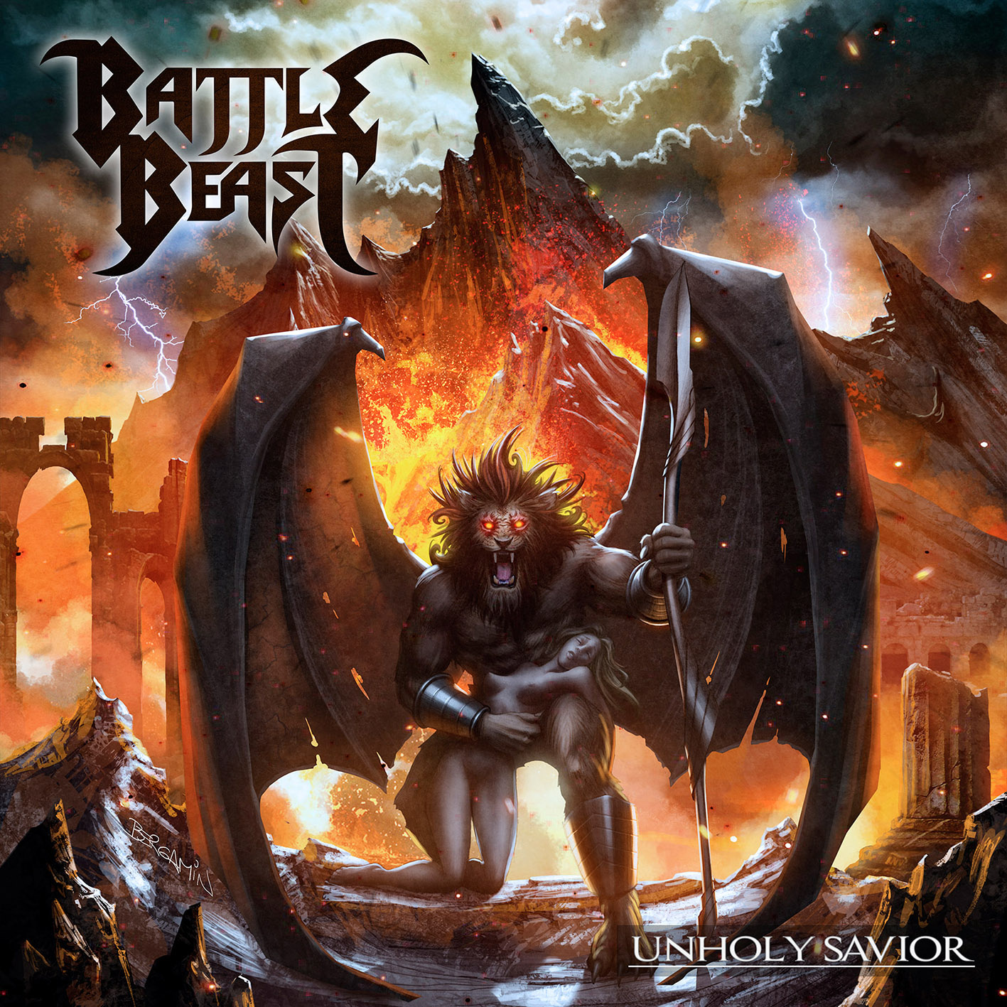 Battle Beast – Unholy Savior Review