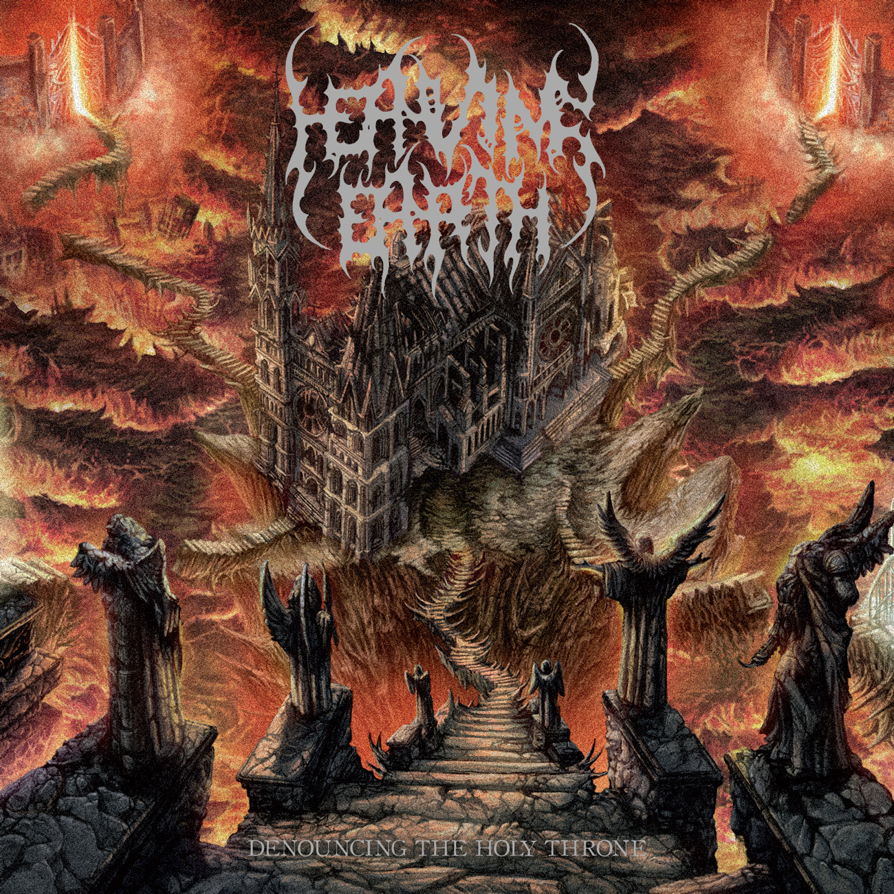 Heaving Earth – Denouncing the Holy Throne Review