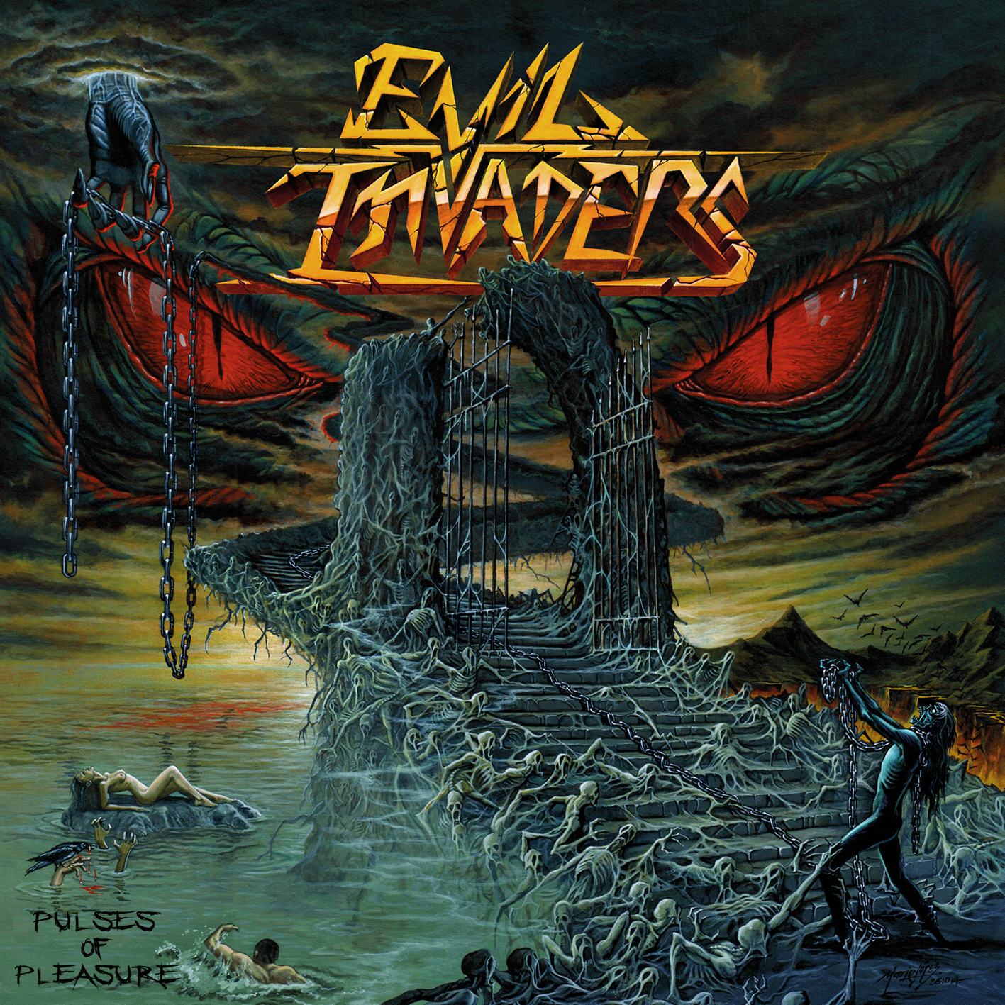 Evil Invaders – Pulses of Pleasure Review