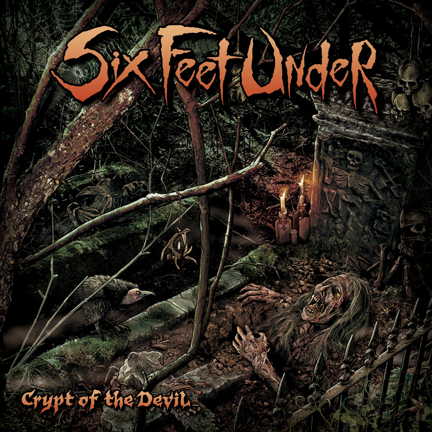 Six Feet Under - Crypt Of The Devil Review