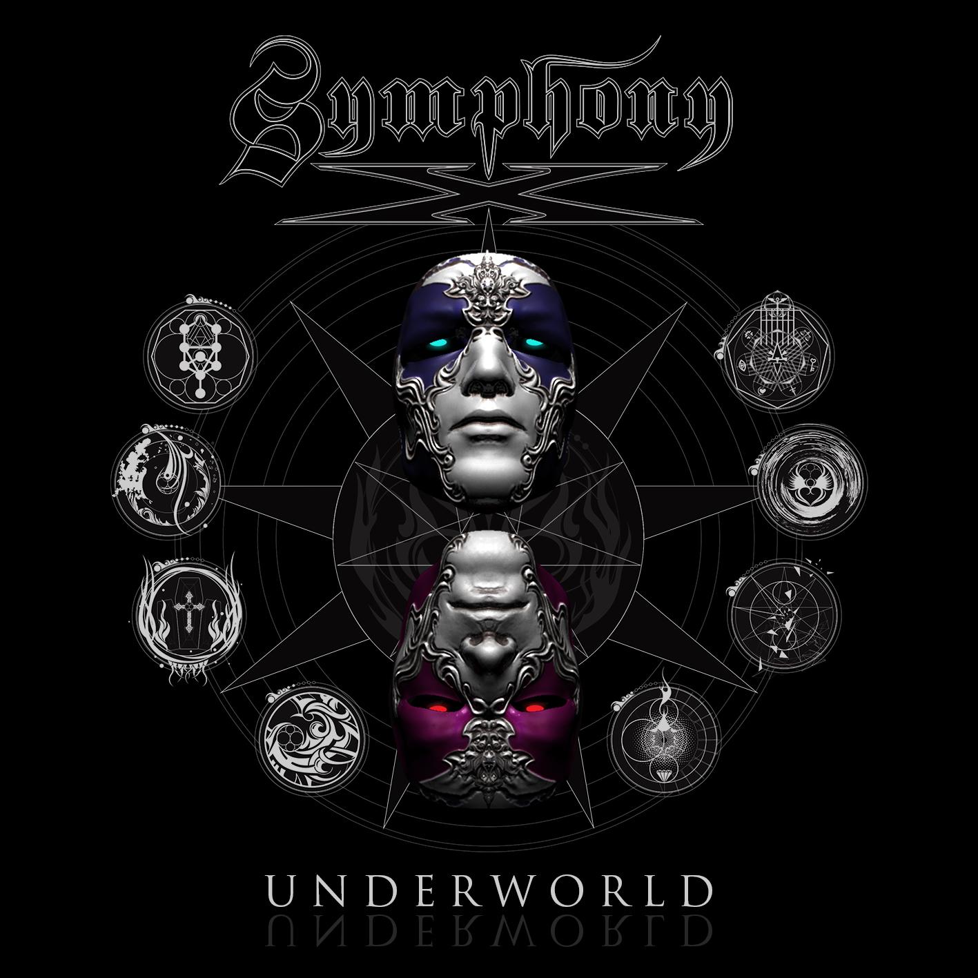Black T-Shirt SymphonyX Underworld