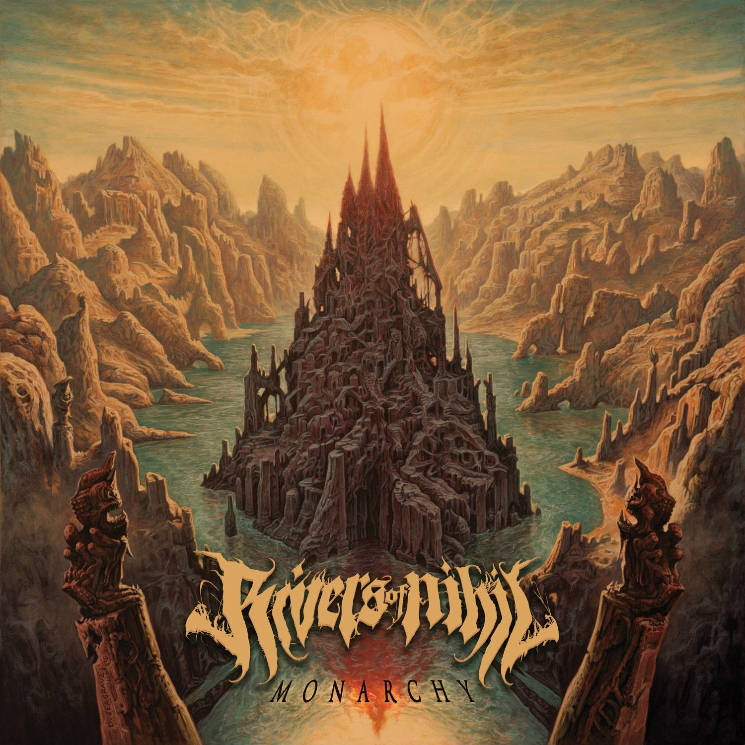 Rivers Of Nihil Monarchy Review Angry Metal Guy