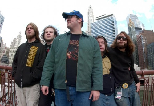 The Black Dahlia Murder in 2005 by Scott Harrison
