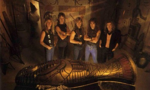 1984 Powerslave Band