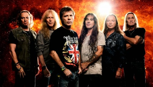 Iron Maiden in 2015
