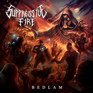 Suppressive Fire - Bedlam Album Cover Resize