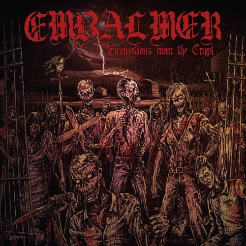 embalmer - crypt cover