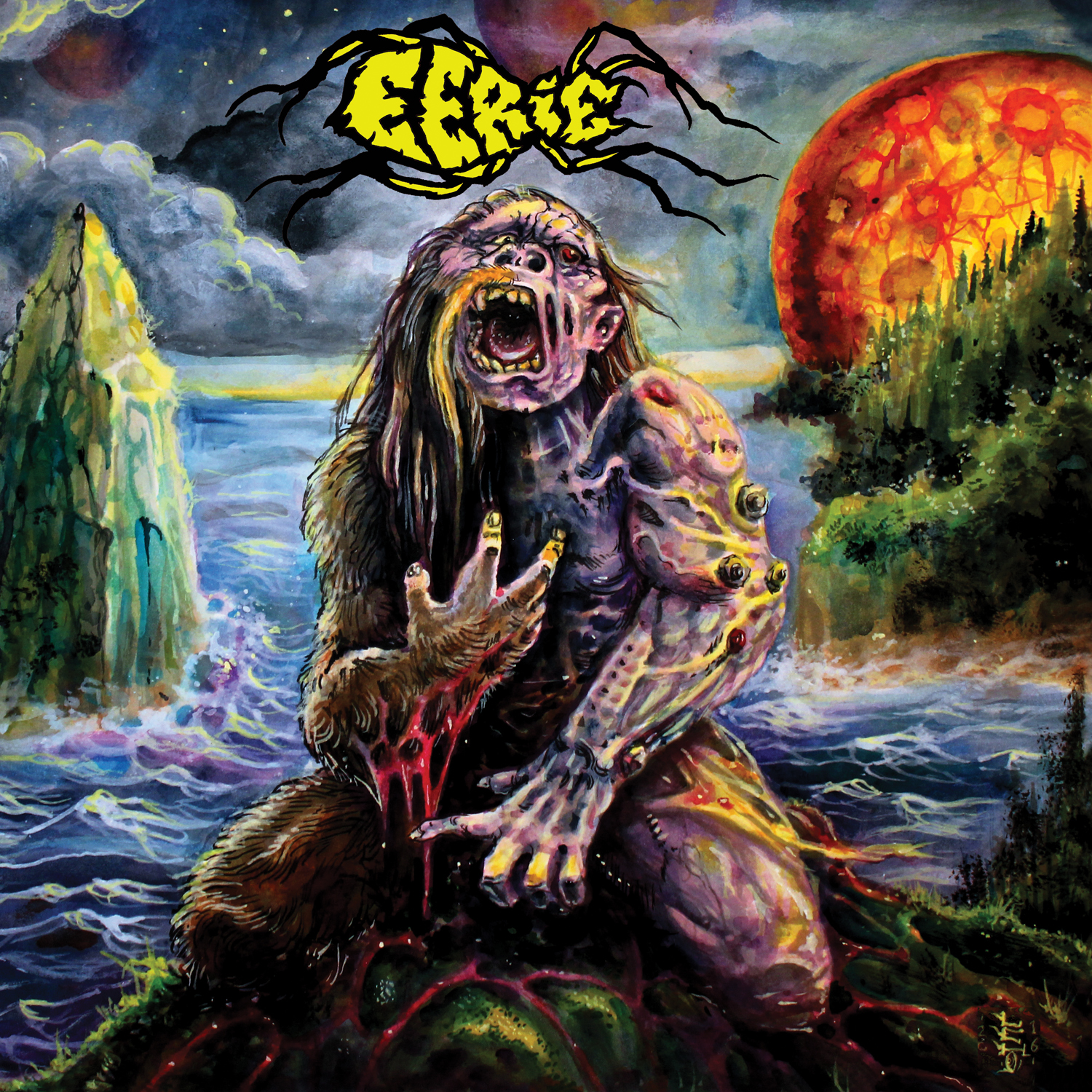 Eerie - Eerie Review | Angry Metal Guy
