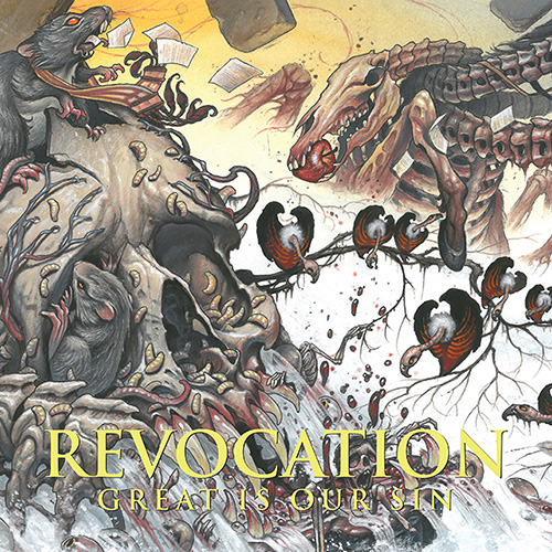 Revocation - Great Is Our Sin Cover