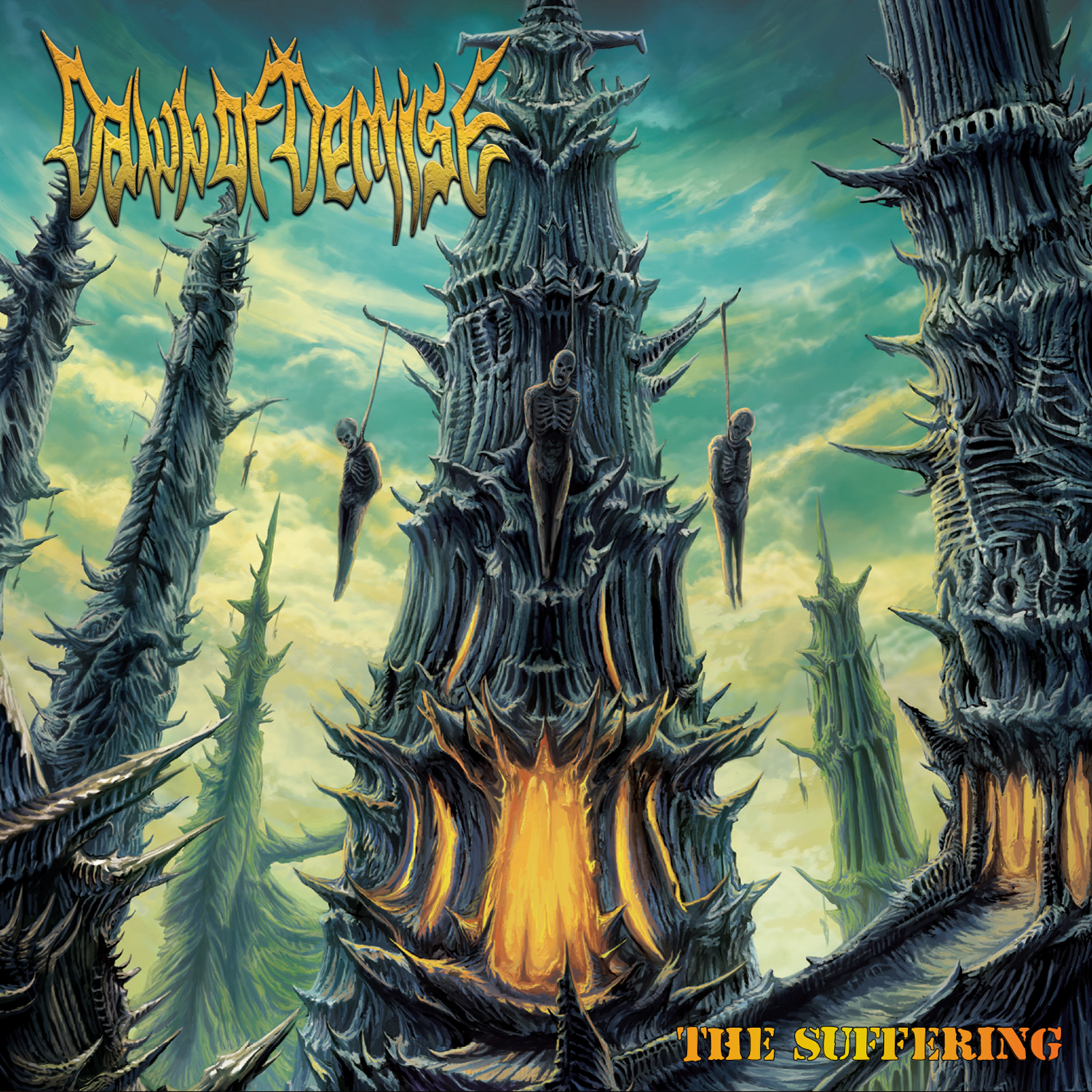 Dawn Of Demise The Suffering Review Angry Metal Guy
