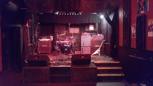 Livewire Lounge stage