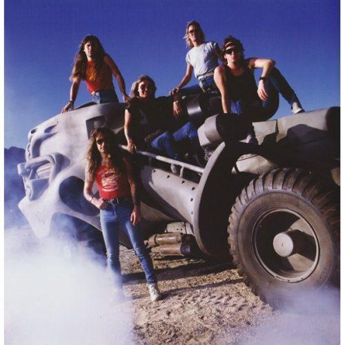 Iron Maiden Band 1986