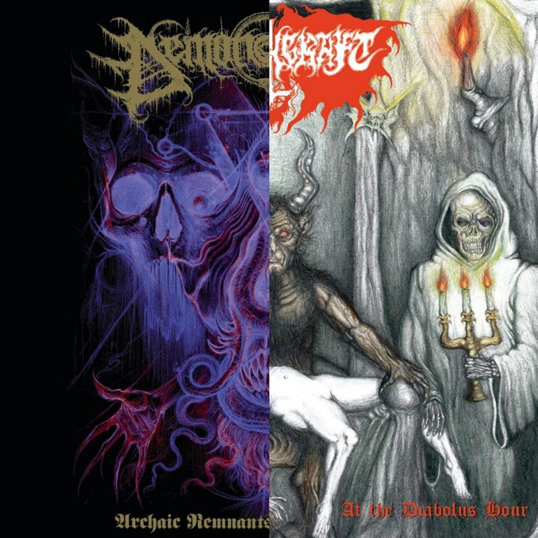 Demonomancy/Witchcraft – Archaic Remnants of the Numinous/At the Diabolus Hour Review