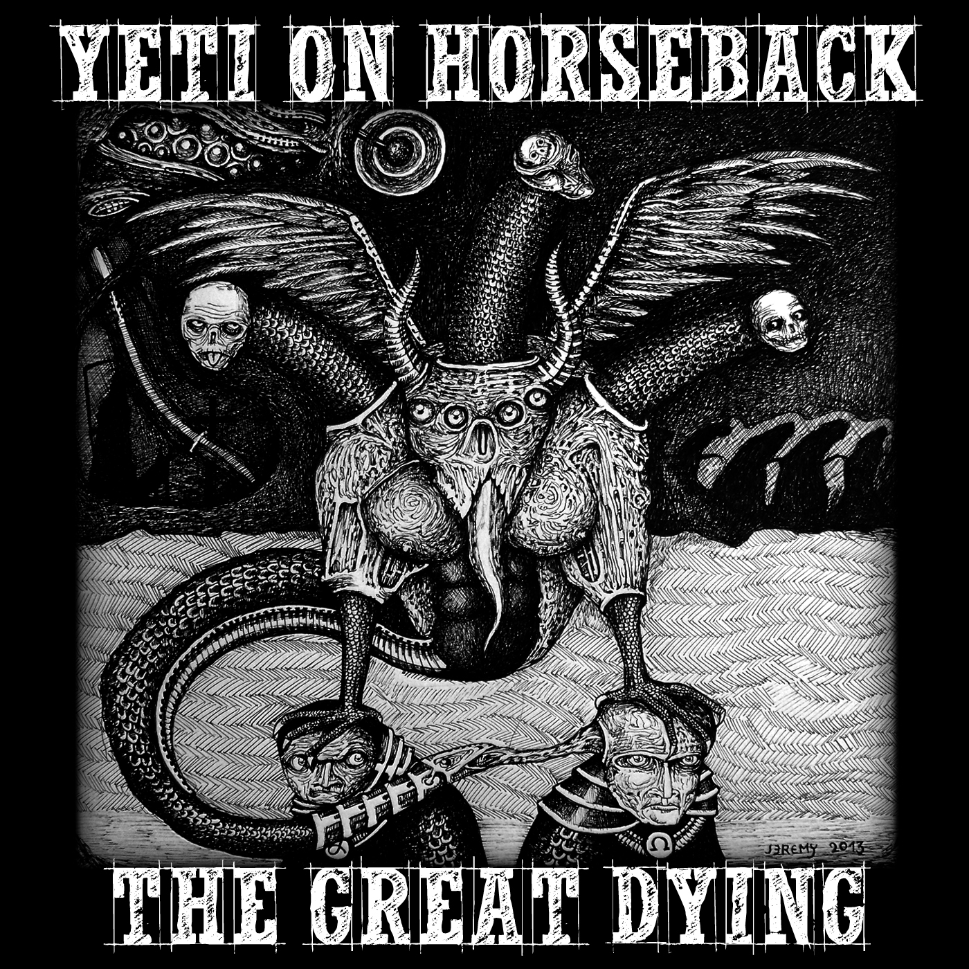 yeti on horseback - the great dying