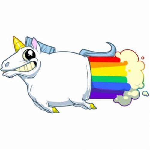 unicorn-rocket