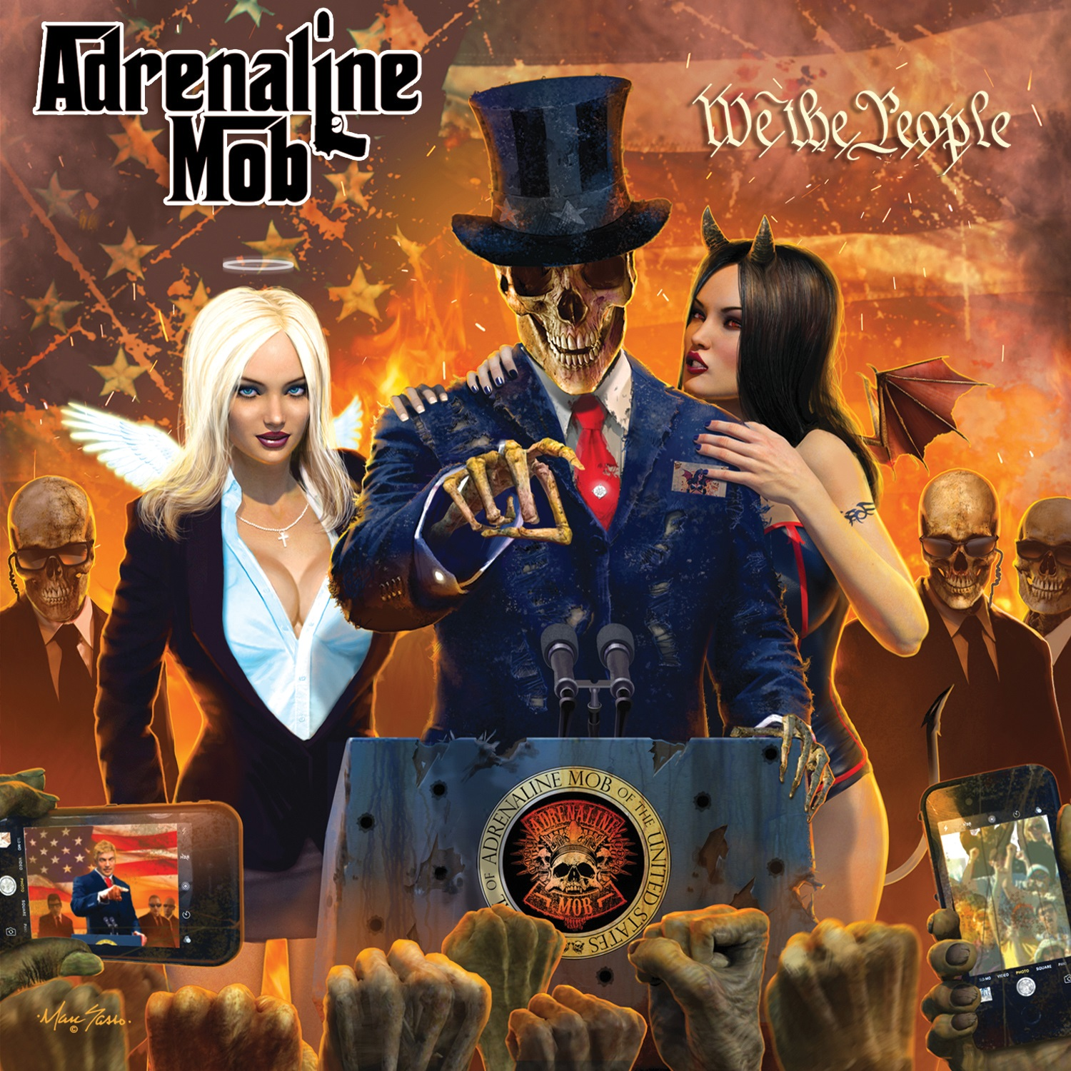 Adrenaline Mob We The People Review Angry Metal Guy