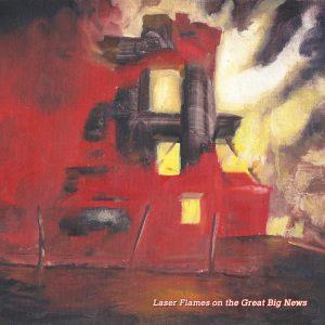 Laser Flames on the Great Big News - Laser Flames on the Great Big News 01