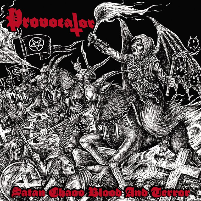 Provocator – Satan, Chaos, Blood and Terror Review
