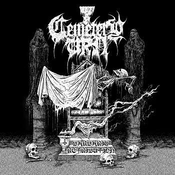 Cemetery Urn - Barbaric Retribution 01