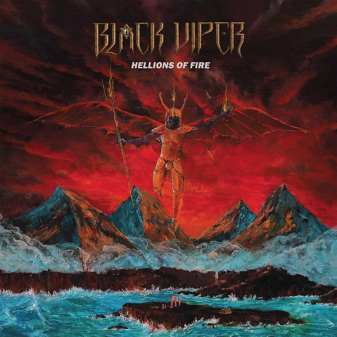 Image result for Black Viper Hellions of fire Cover art