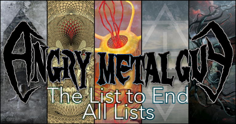 AngryMetalGuy.com's Aggregated Top 10(ish) of 2018: The List to End All Lists