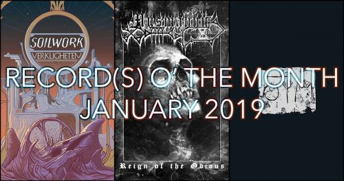 Record(s) o' the Month - January 2019