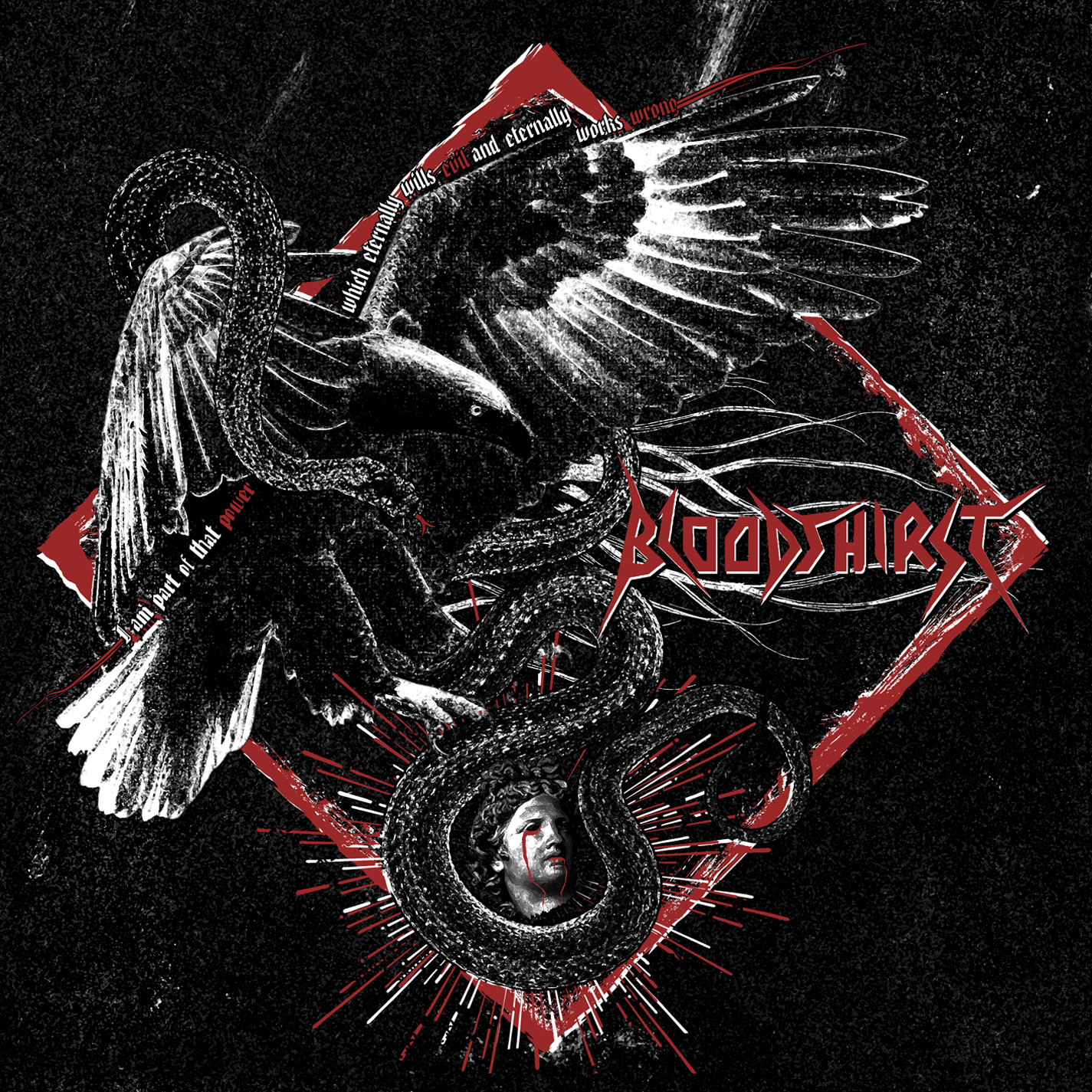 Bloodthirst - I Am Part of That Power Which Eternally Wills Evil and Eternally Works Wrong Review