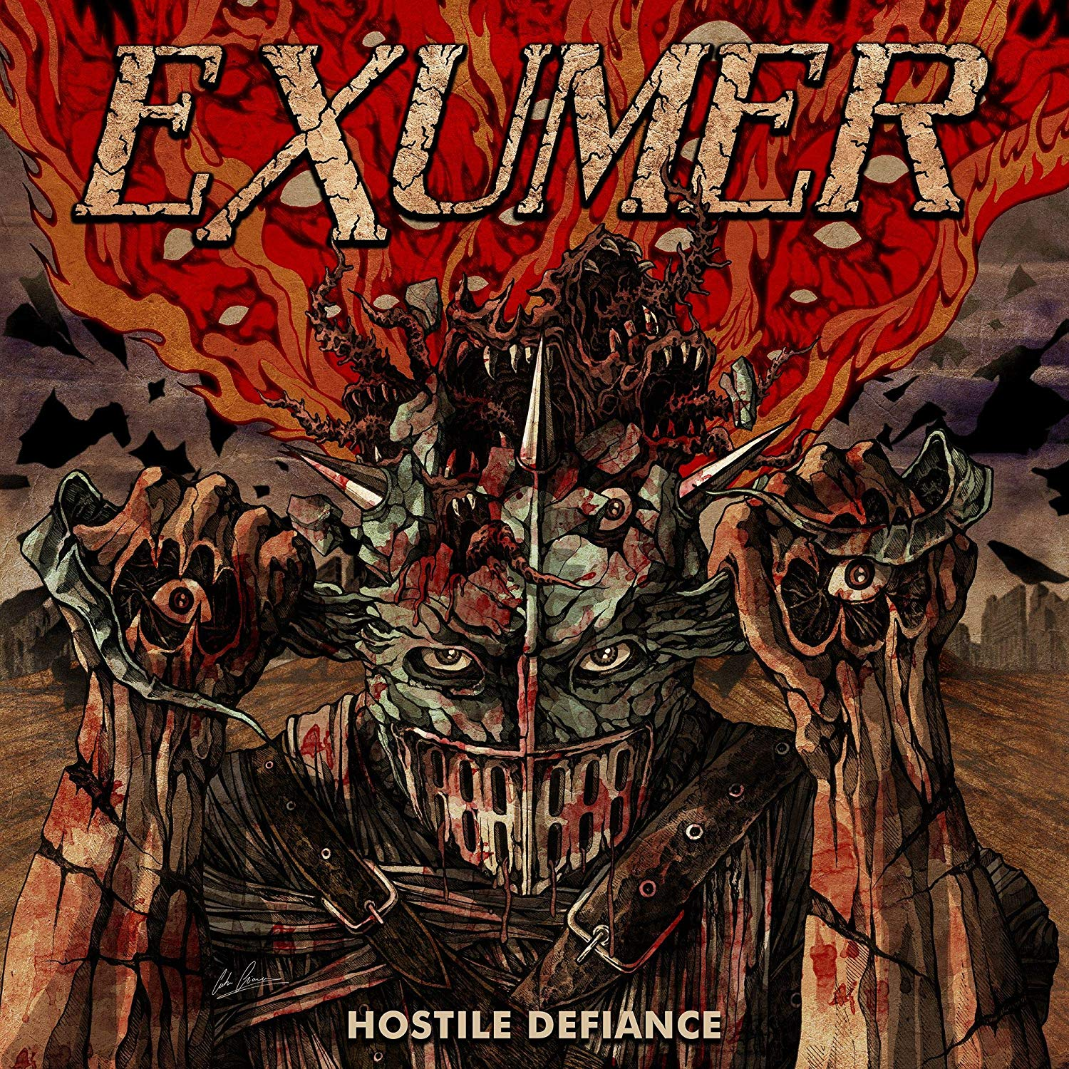 Exumer Hostile Defiance Review Angry Metal Guy