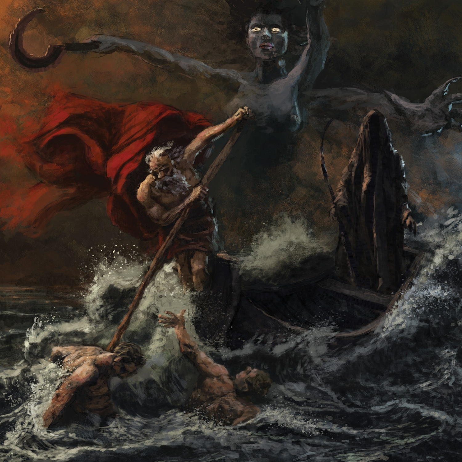 Destroyer Of Light Mors Aeterna Review Angry Metal Guy