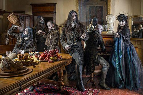 Fleshgod Apocalypse's promotional photo