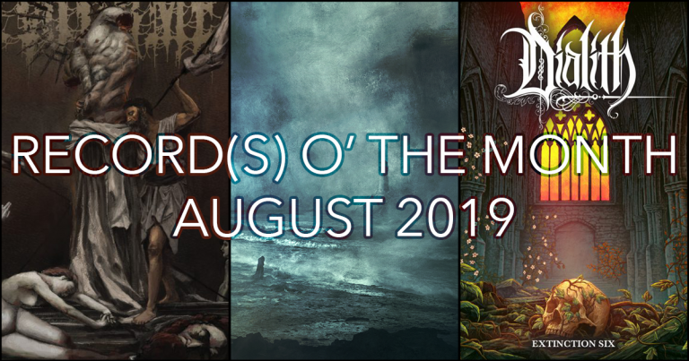 Record(s) o' the Month – August 2019