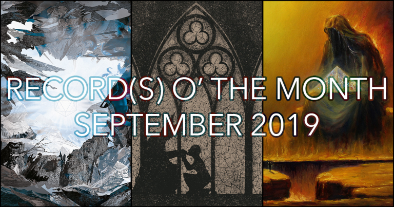 Record(s) o' the Month – September 2019