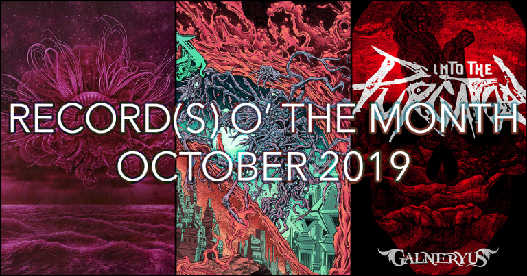 Record(s) o' the Month – October 2019
